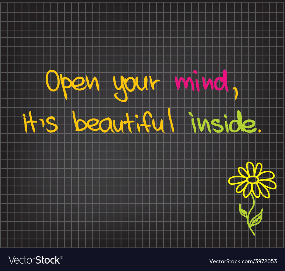 Open your mind vector   Price: 1 Credit (USD $1)