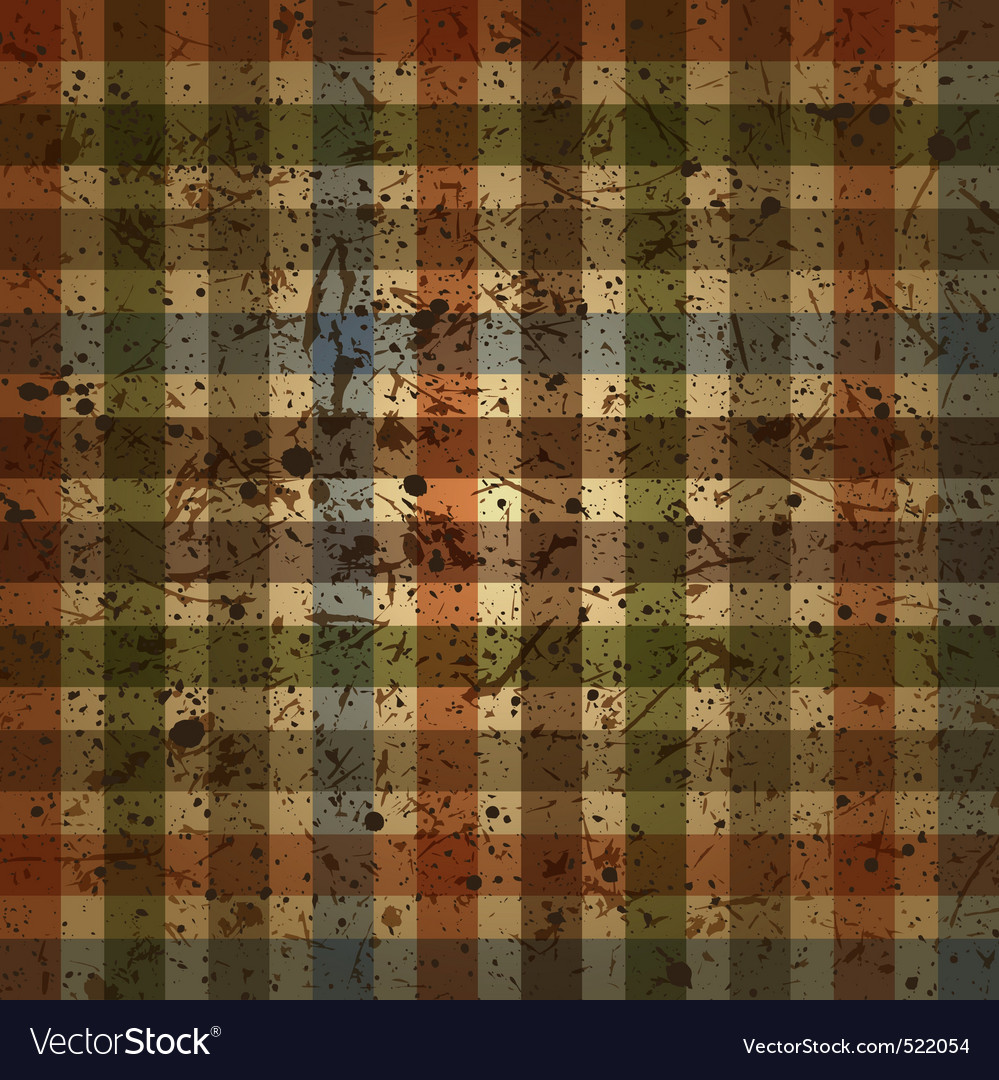 Abstract checkered background vintage vector | Price: 1 Credit (USD $1)