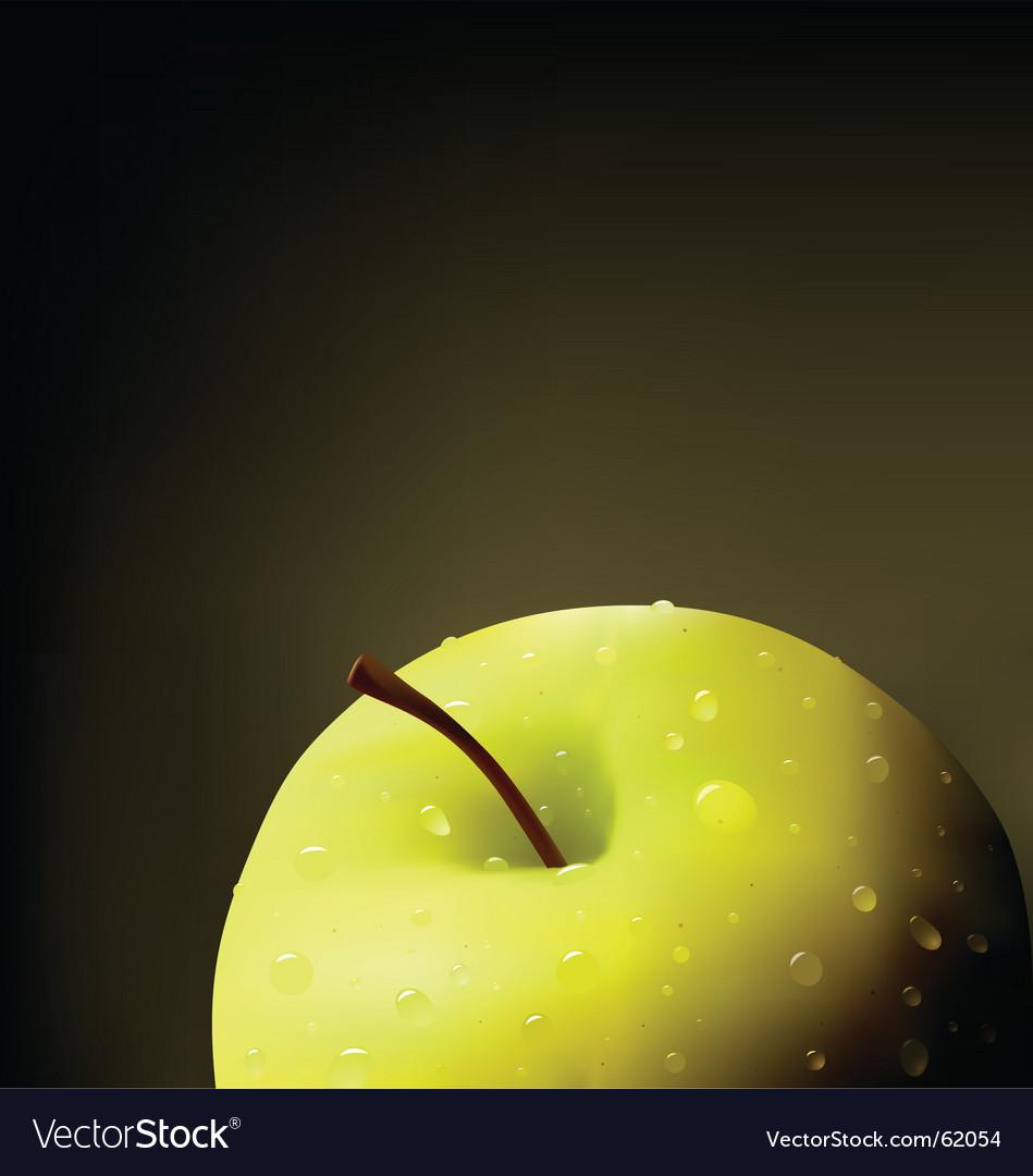 Apple illustration vector | Price: 1 Credit (USD $1)