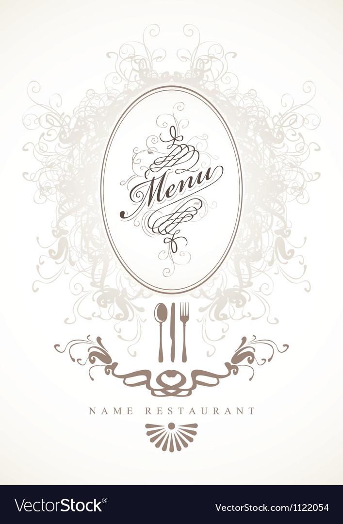 Baroque menu vector | Price: 1 Credit (USD $1)