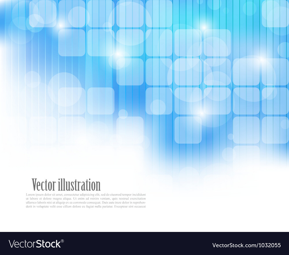 Abstract blue tech background vector | Price: 1 Credit (USD $1)