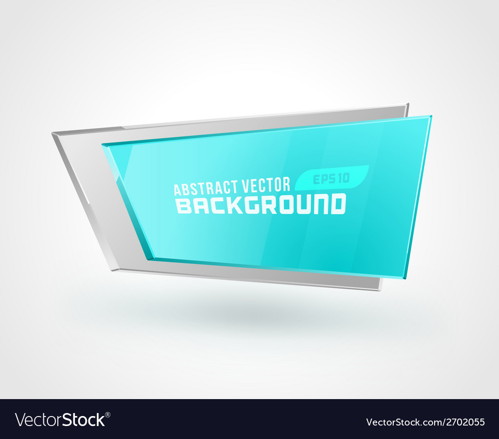 Abstract geometric 3d shape color background vector | Price: 1 Credit (USD $1)