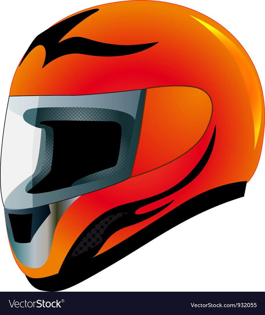 Bike helmet vector | Price: 1 Credit (USD $1)