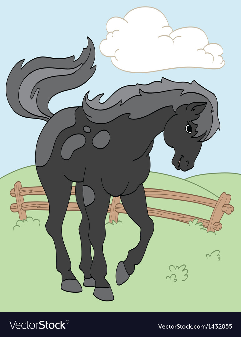 Black beauty vector | Price: 1 Credit (USD $1)