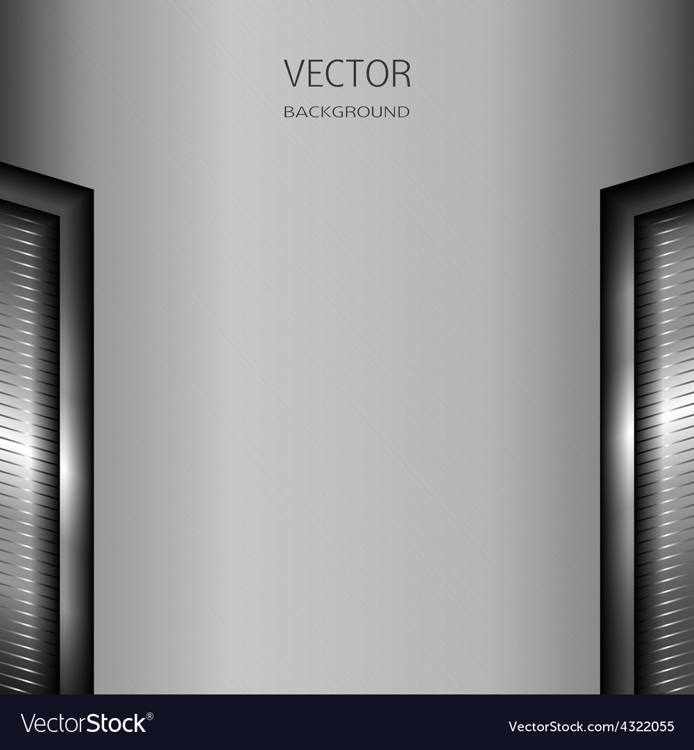 Brushed metal with shiny elements vector   Price: 1 Credit (USD $1)