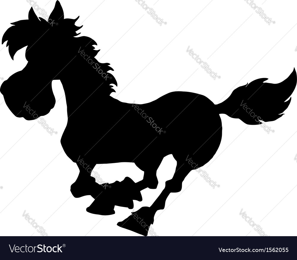 Cartoon horse vector | Price: 1 Credit (USD $1)