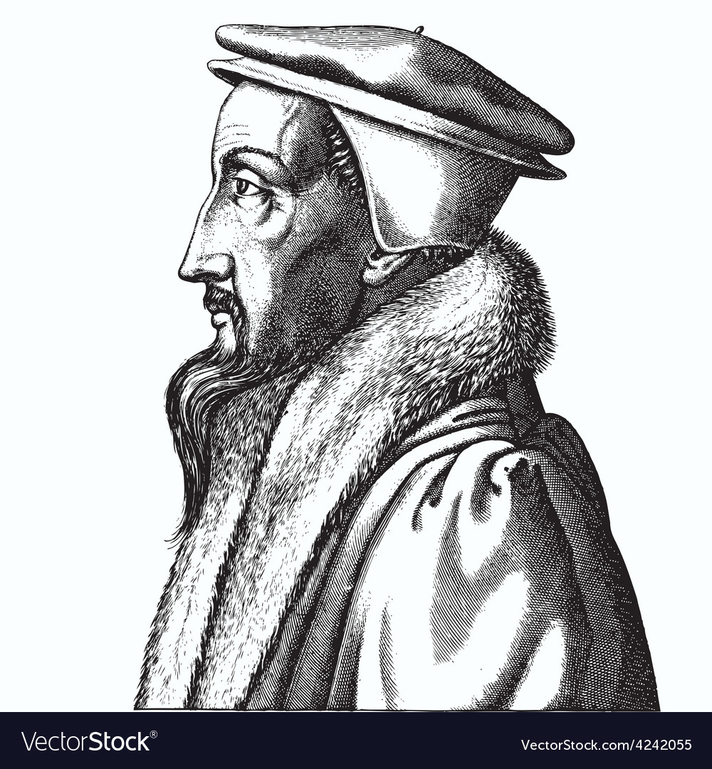 John calvin vector | Price: 3 Credit (USD $3)