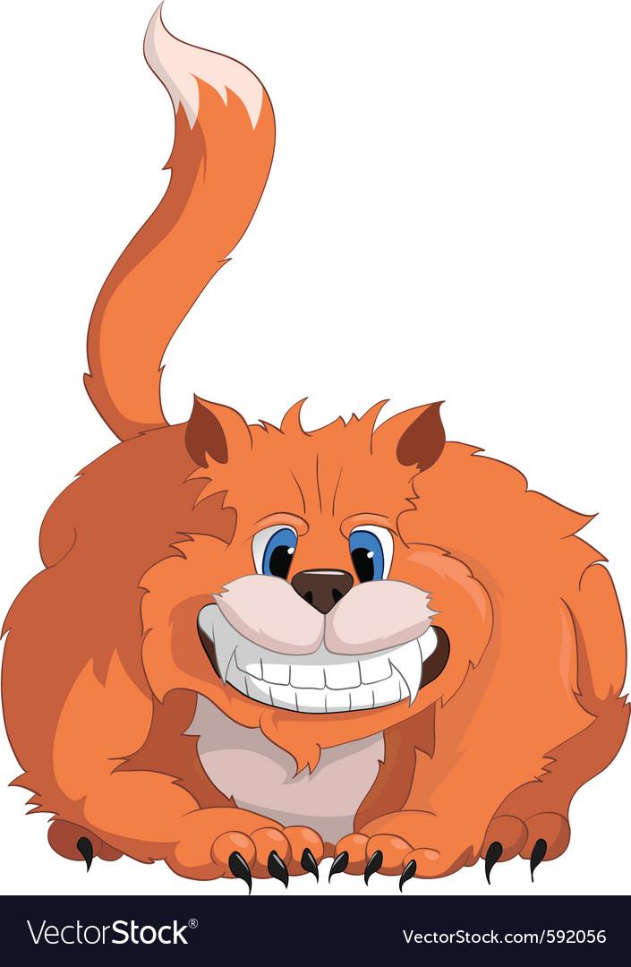Cartoon character cat vector   Price: 3 Credit (USD $3)