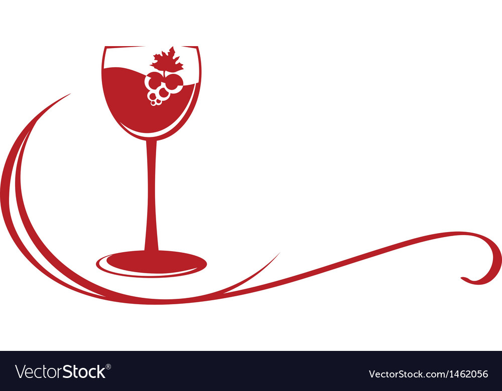 Wine emblem vector | Price: 1 Credit (USD $1)