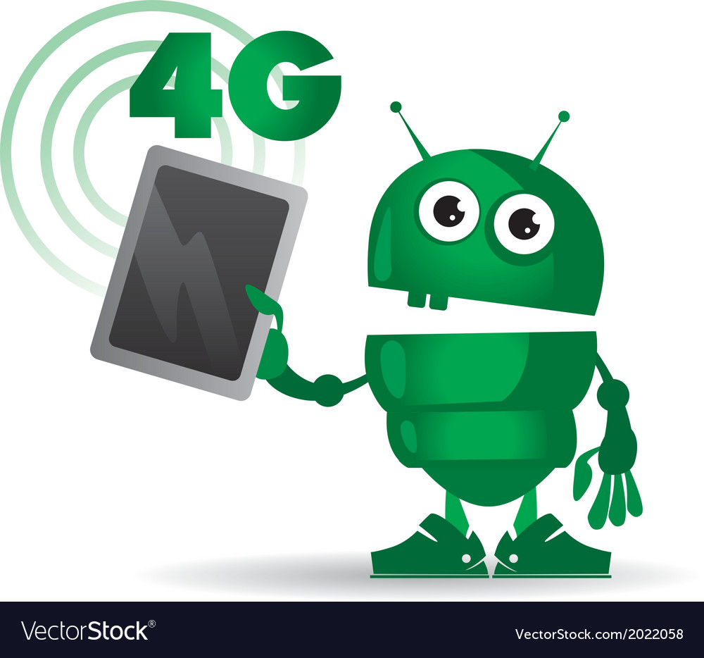 4g android vector | Price: 1 Credit (USD $1)