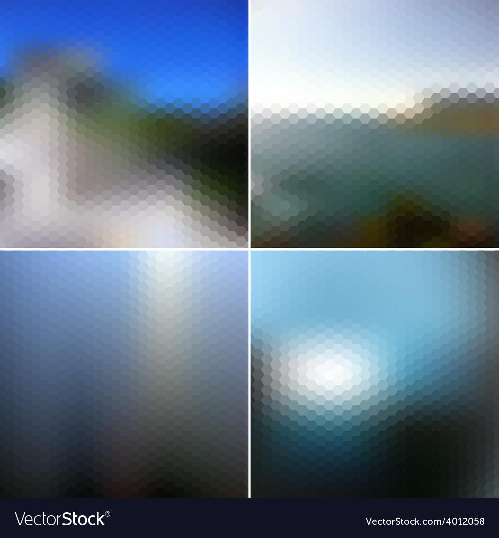 Blur landscape backgrounds blurred vector   Price: 1 Credit (USD $1)