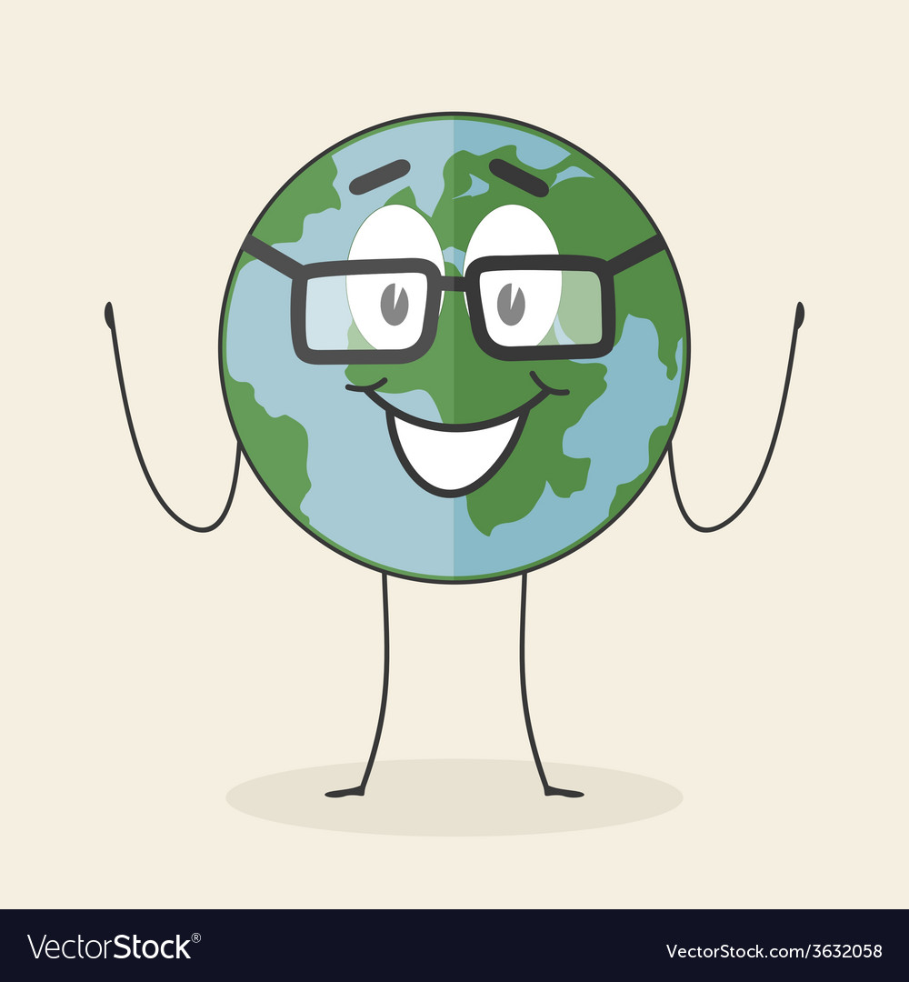 Cartoon planet vector | Price: 1 Credit (USD $1)