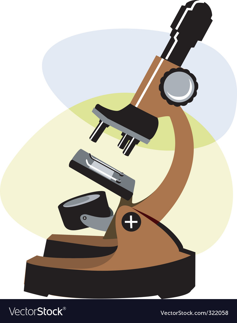 Microscope vector | Price: 1 Credit (USD $1)
