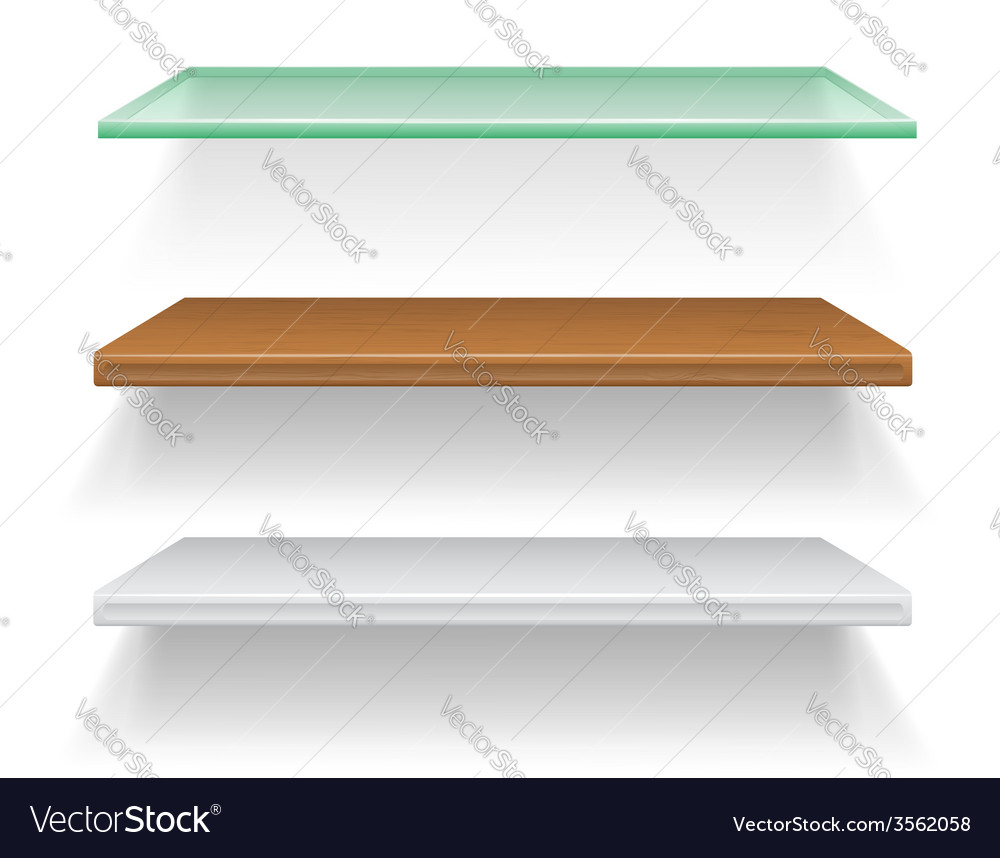 Shelves 04 vector | Price: 1 Credit (USD $1)