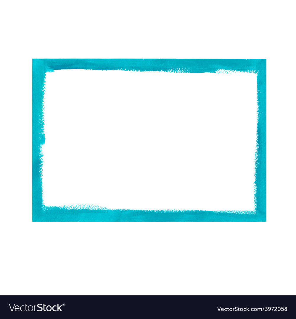 Turquoise grunge frame vector | Price: 1 Credit (USD $1)