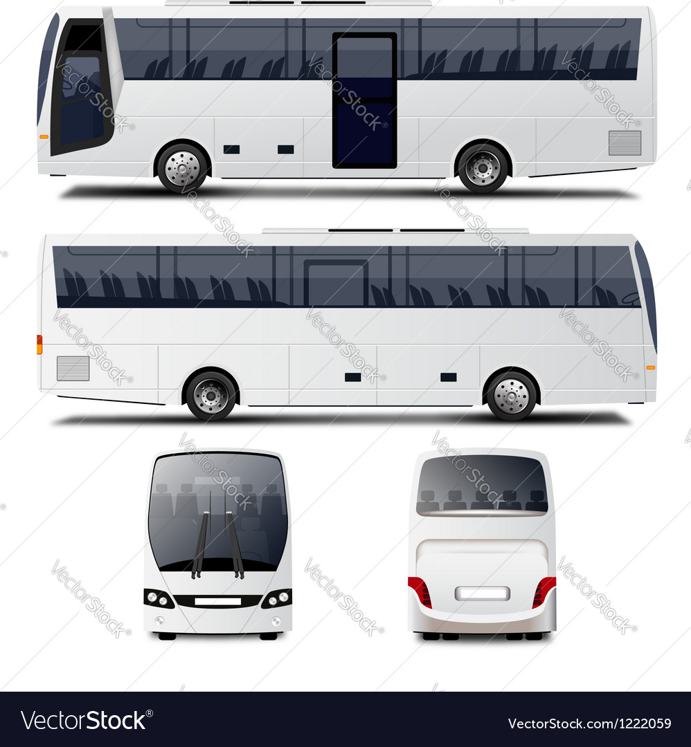City bus vector | Price: 3 Credit (USD $3)