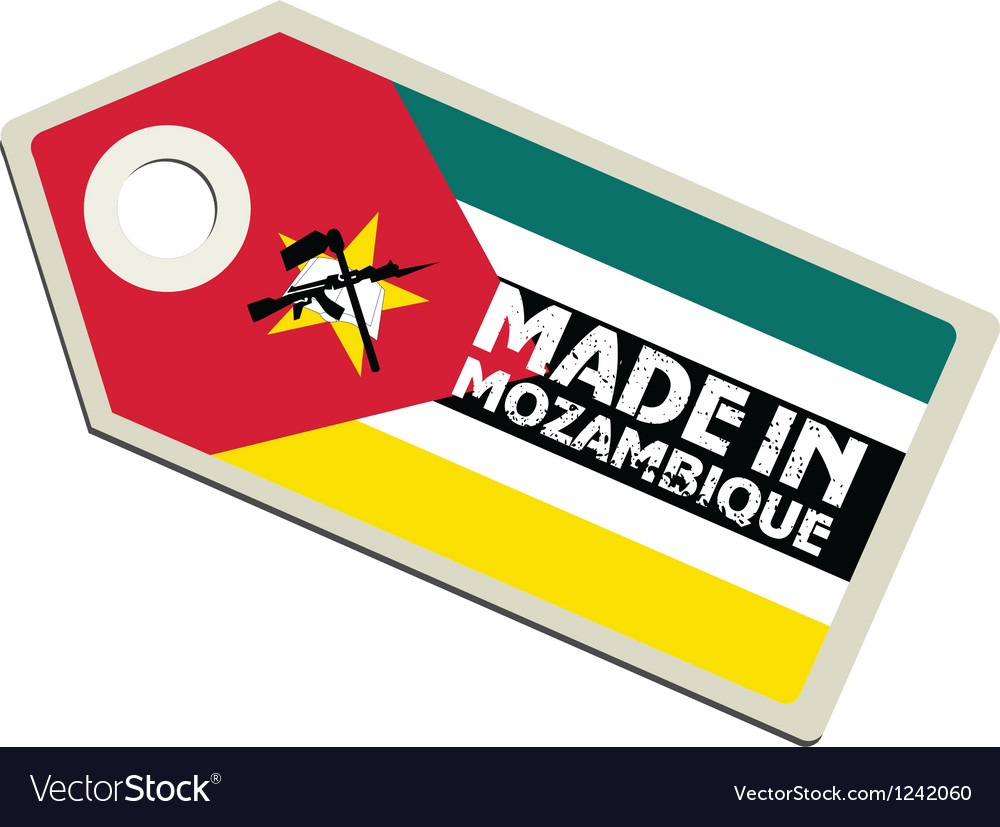 Made in mozambique vector | Price: 1 Credit (USD $1)