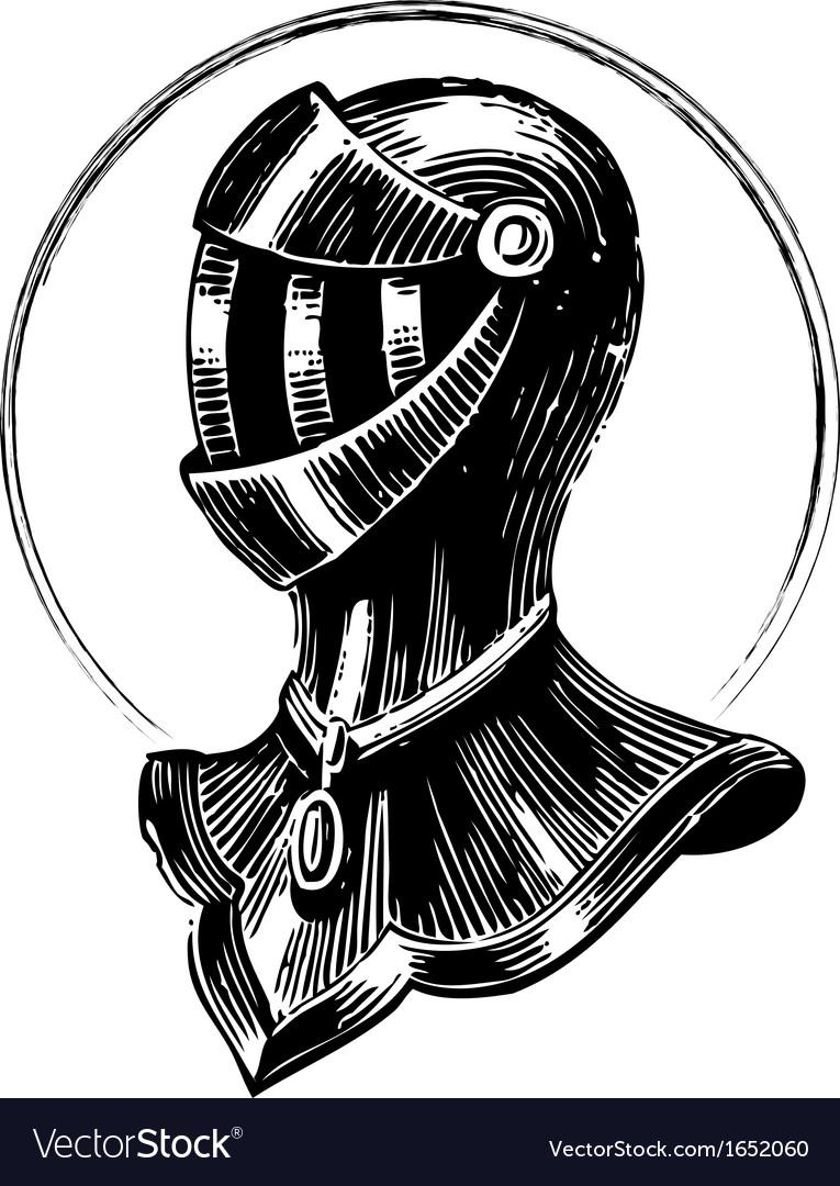 Medieval shield vector | Price: 1 Credit (USD $1)