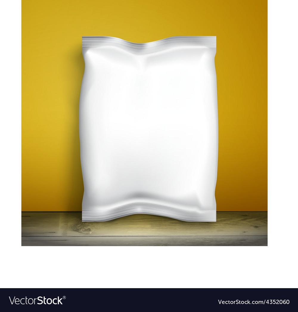 Mockup foil food snack vector | Price: 1 Credit (USD $1)