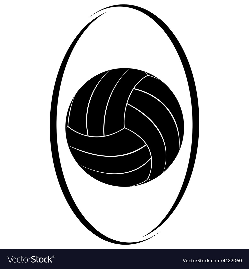 Volleyball 3 vector | Price: 1 Credit (USD $1)