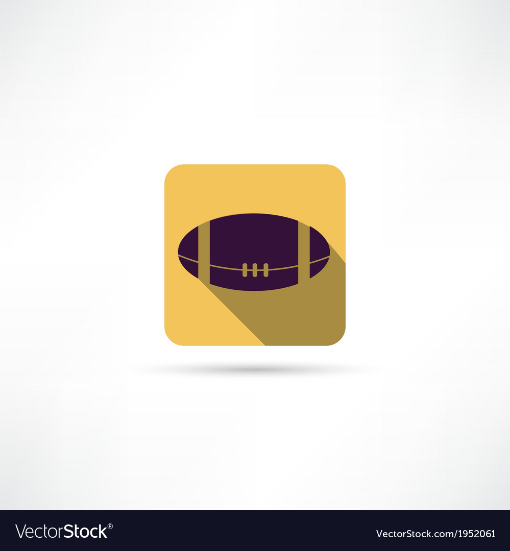 American ball icon vector | Price: 1 Credit (USD $1)