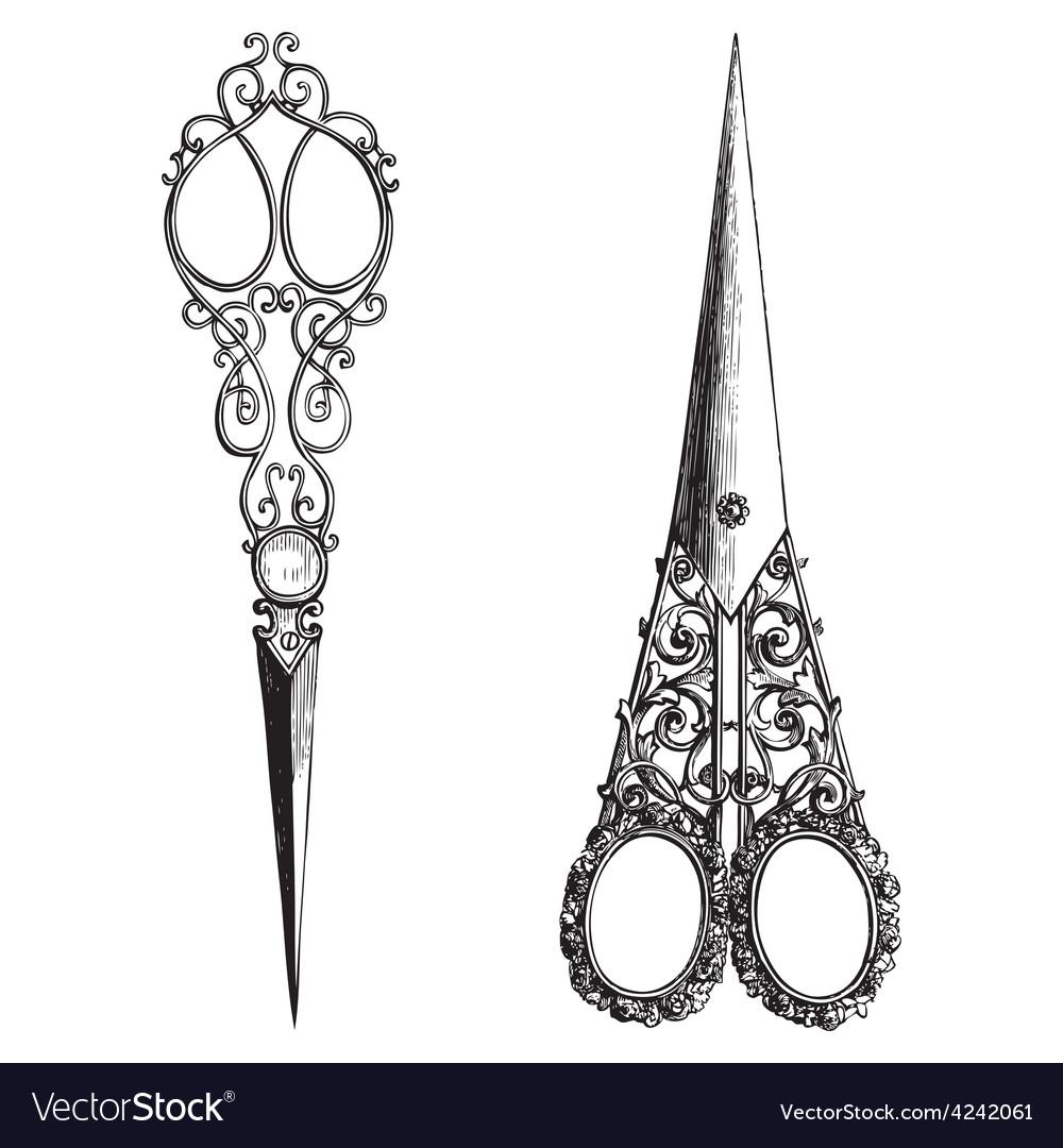 Scissors vector | Price: 3 Credit (USD $3)