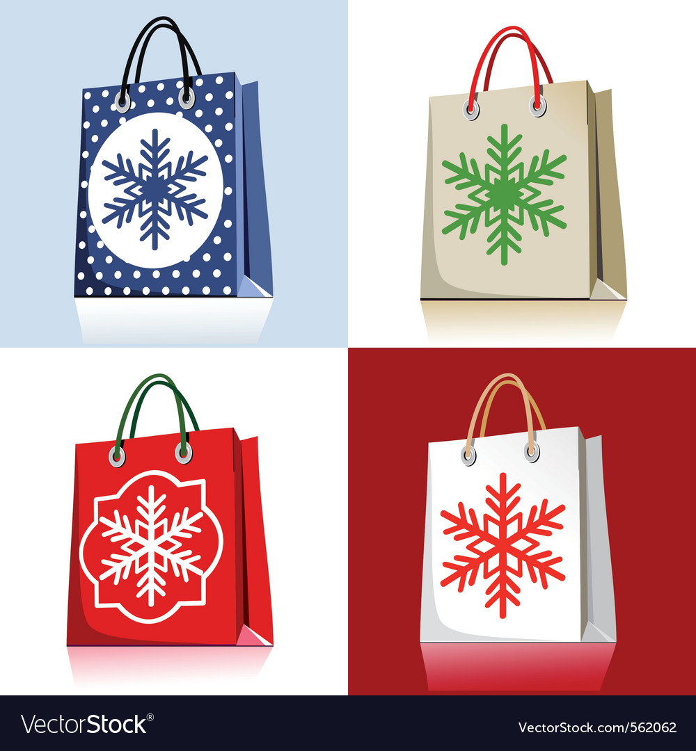 Christmas bags vector | Price: 3 Credit (USD $3)