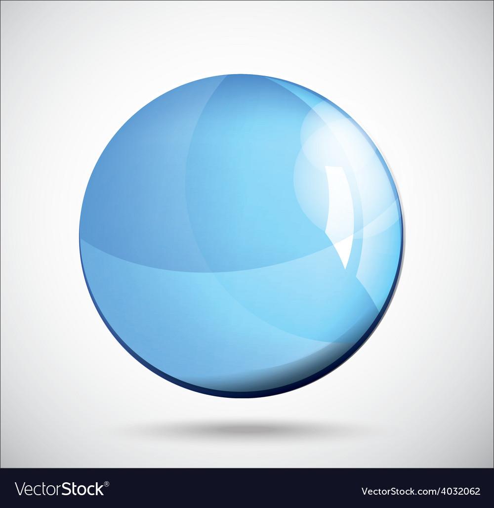 Glass sphere vector | Price: 1 Credit (USD $1)