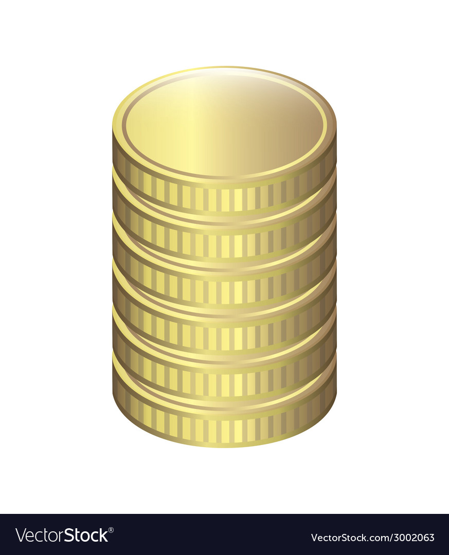 Coins design vector | Price: 1 Credit (USD $1)