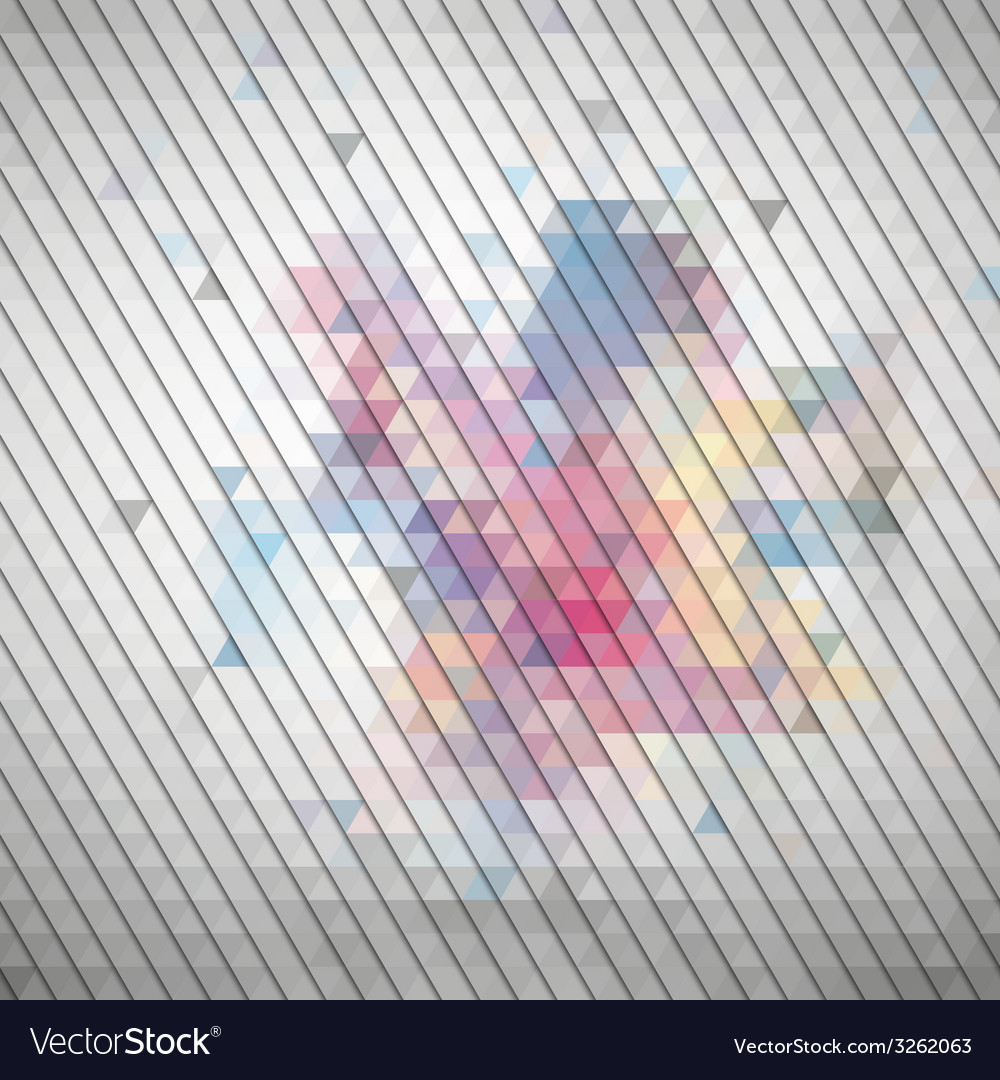 Gray geometric background abstract triangle vector   Price: 1 Credit (USD $1)