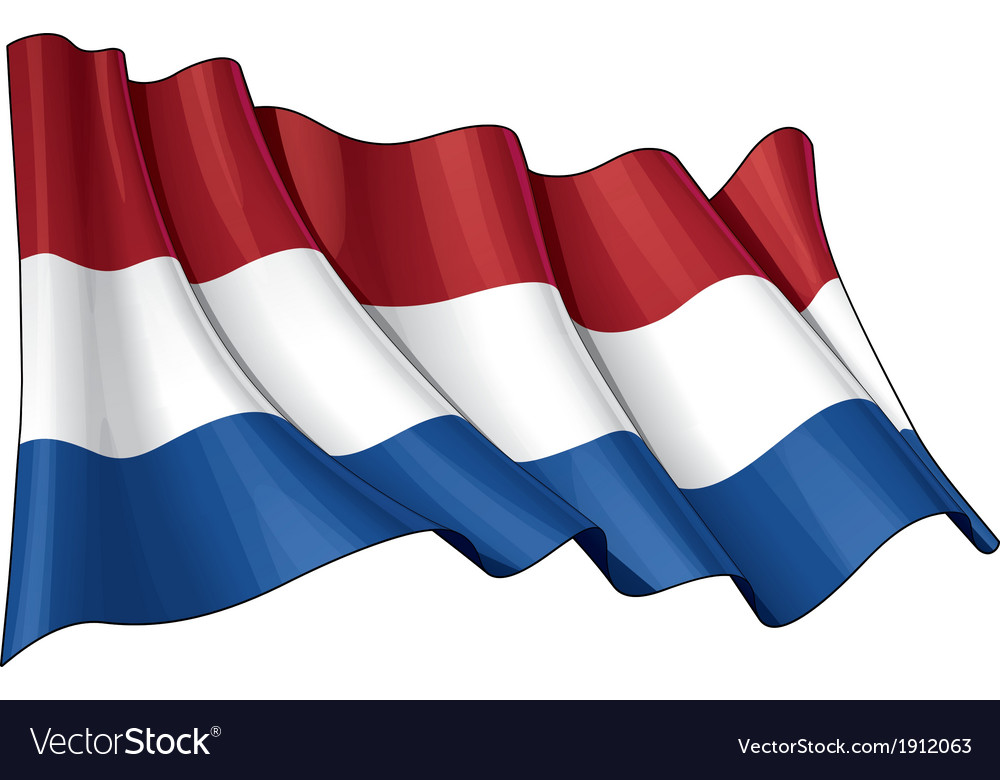 Netherlands flag vector | Price: 1 Credit (USD $1)