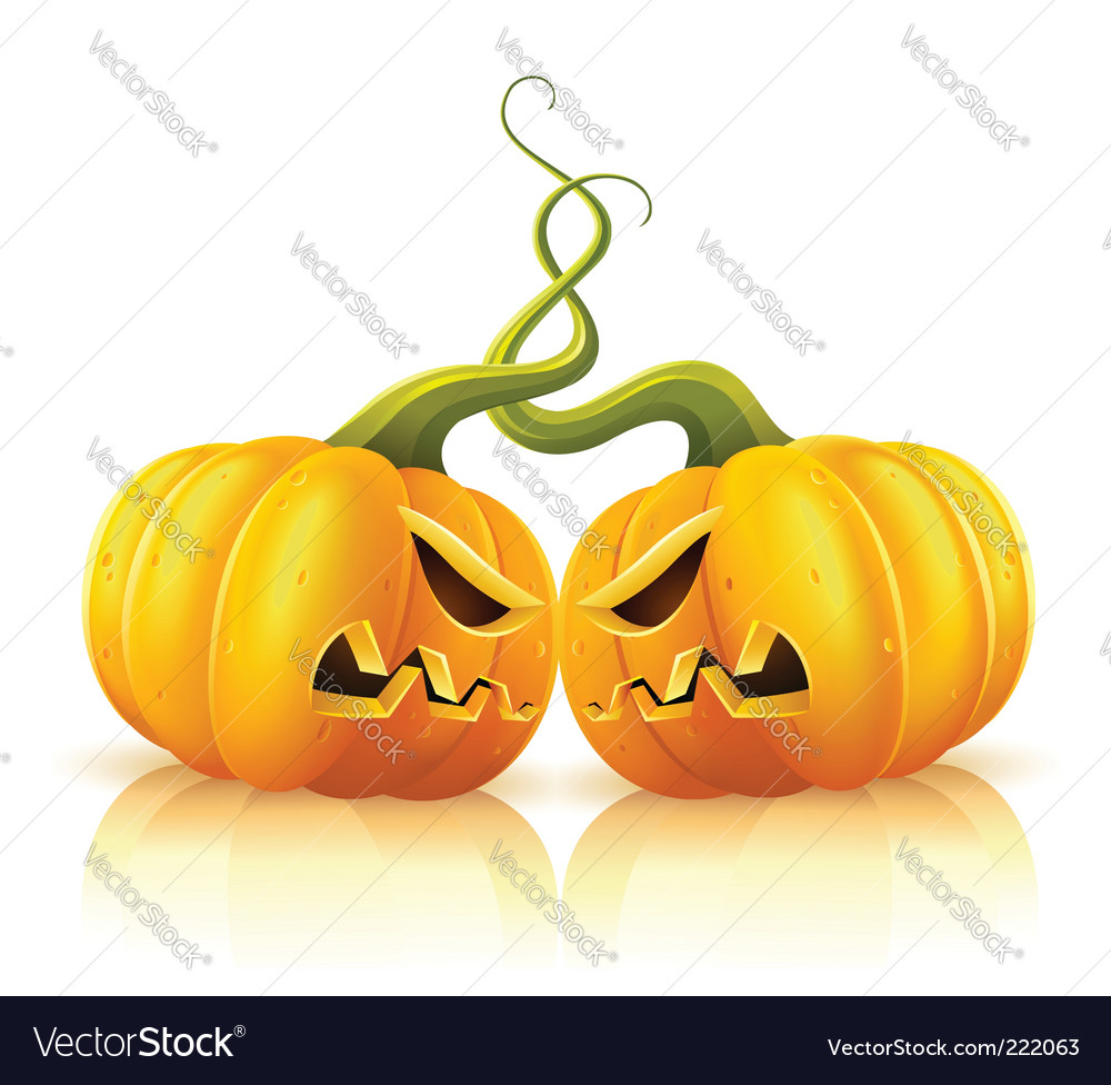 Pumpkins vector | Price: 3 Credit (USD $3)