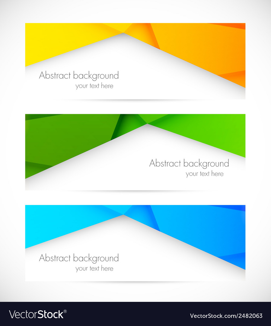 Set of banners vector | Price: 1 Credit (USD $1)