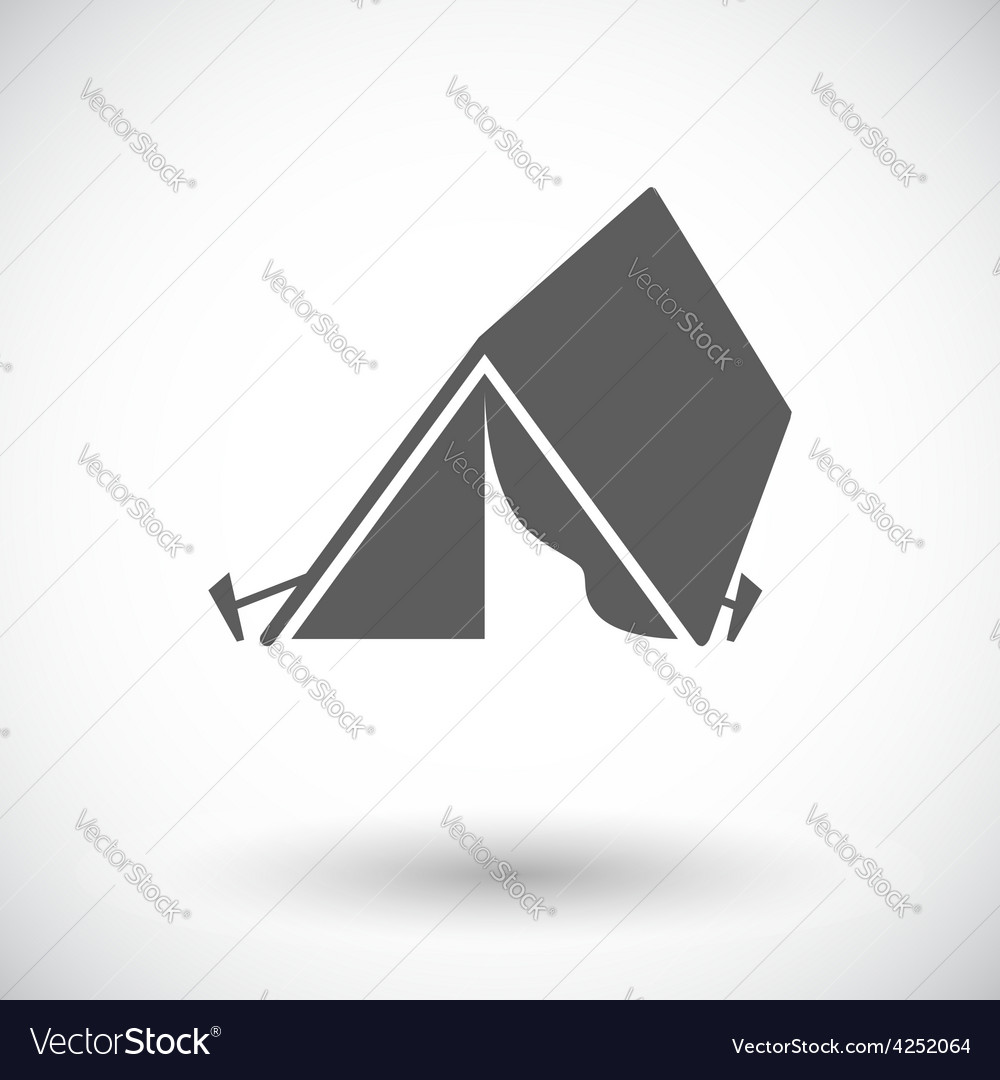Tourist tent vector   Price: 1 Credit (USD $1)