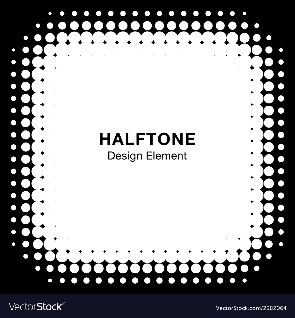 White abstract halftone design element vector | Price: 1 Credit (USD $1)
