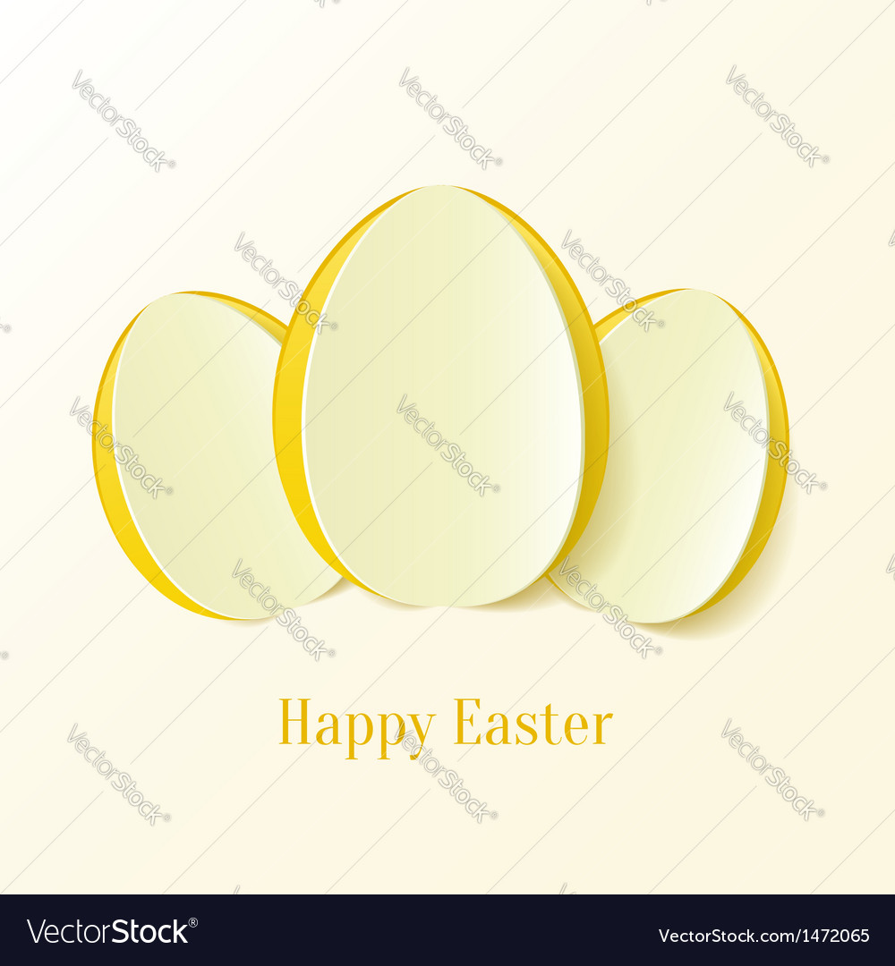 Creative easter eggs vector   Price: 1 Credit (USD $1)