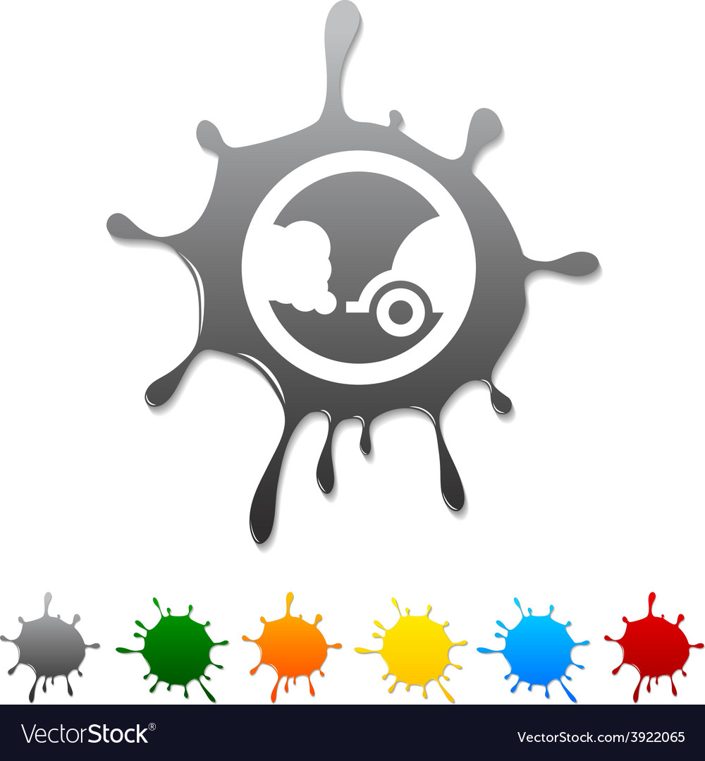 Ecology blot vector | Price: 1 Credit (USD $1)