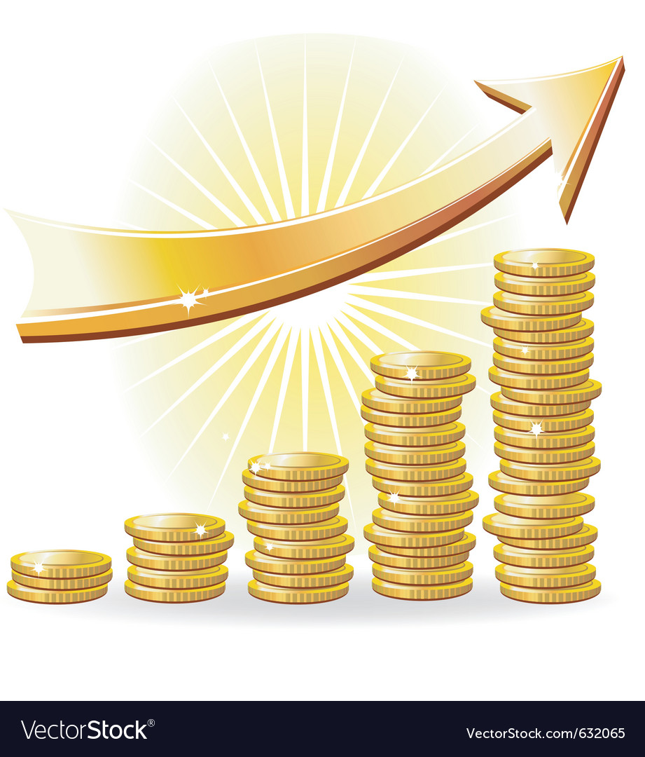Financial success concept vector | Price: 1 Credit (USD $1)