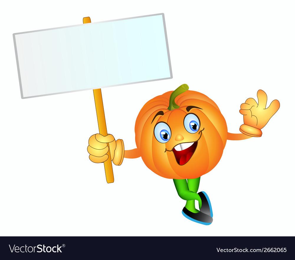 Pumpkin boy vector | Price: 1 Credit (USD $1)