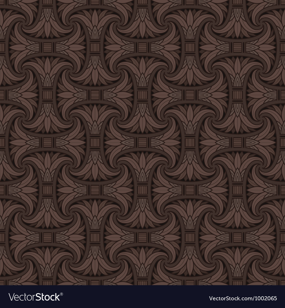 Seamless egyptian pattern vector | Price: 1 Credit (USD $1)