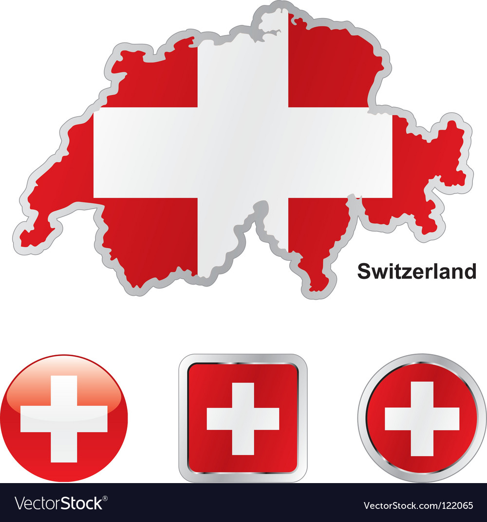 Switzerland vector | Price: 1 Credit (USD $1)
