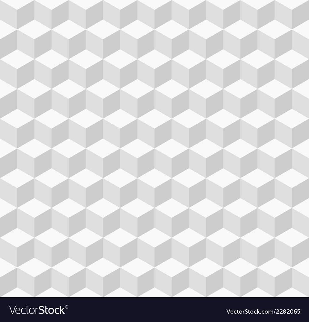 White geometric seamless background vector | Price: 1 Credit (USD $1)