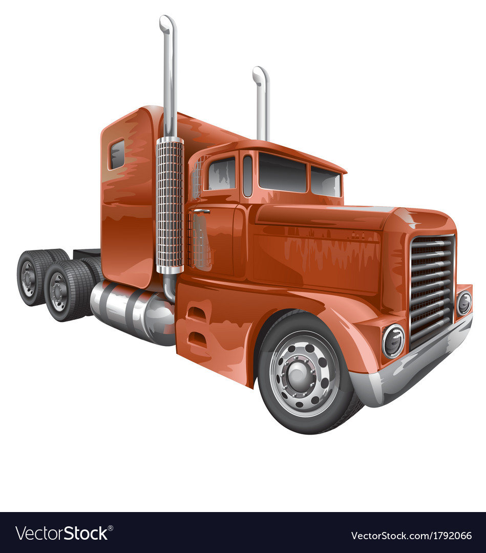Brown truck vector   Price: 3 Credit (USD $3)