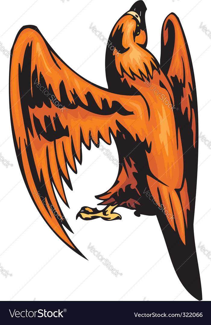 Predatory birds vector | Price: 1 Credit (USD $1)
