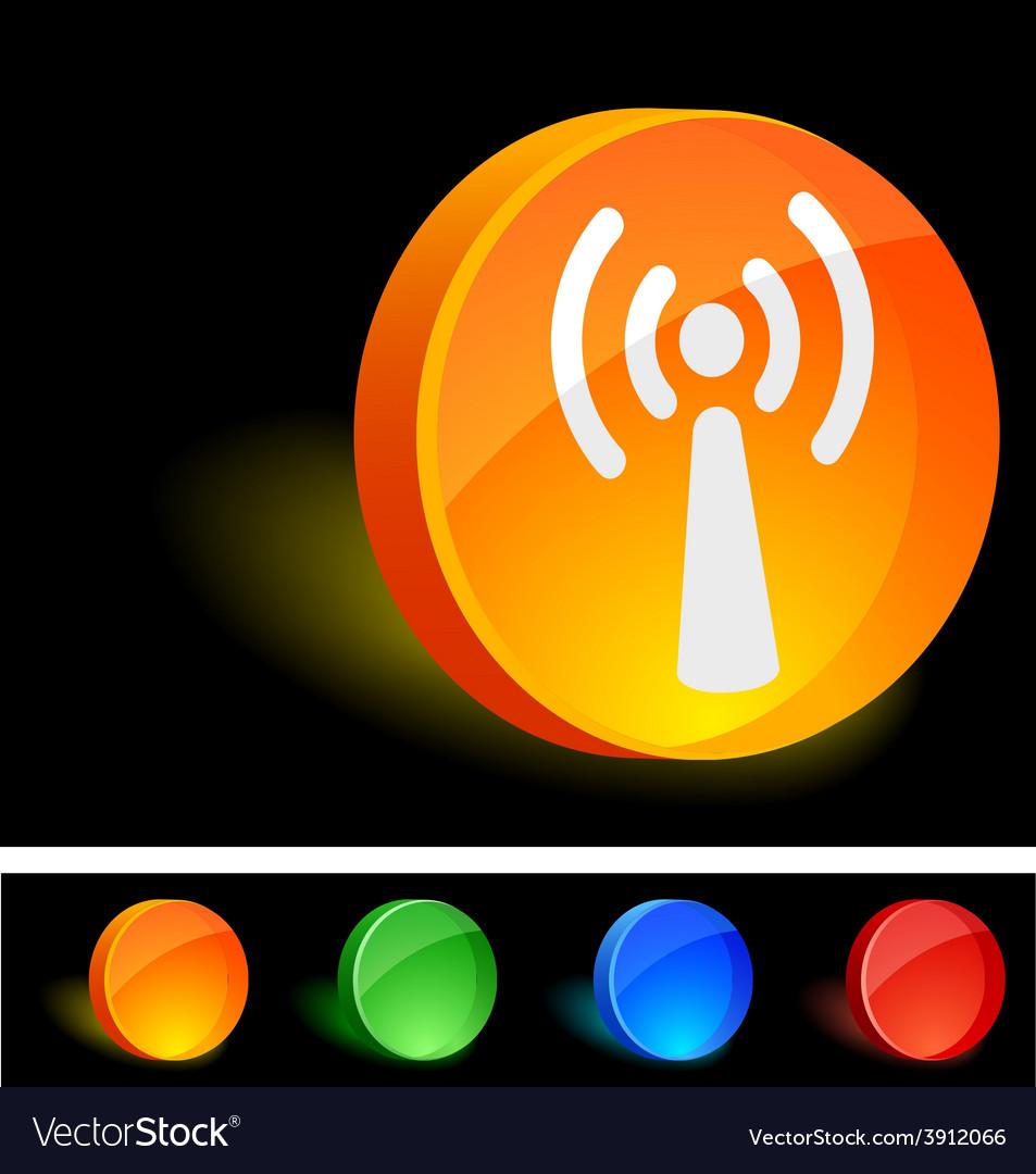 Radio icon vector | Price: 1 Credit (USD $1)