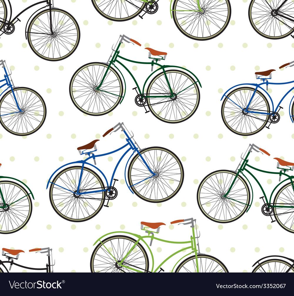Hipster bike patern saren vector | Price: 1 Credit (USD $1)