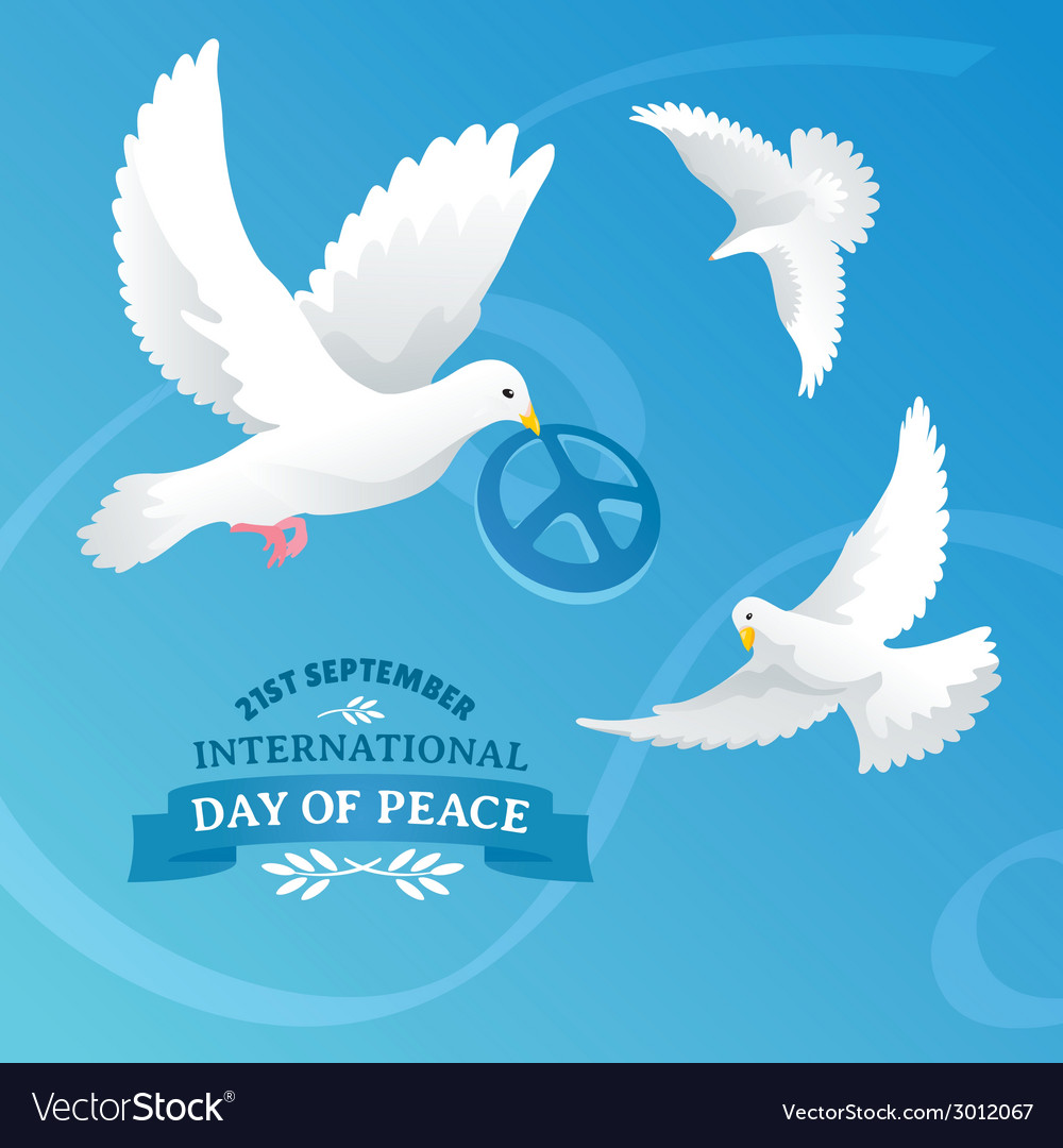 International day of peace vector | Price: 1 Credit (USD $1)