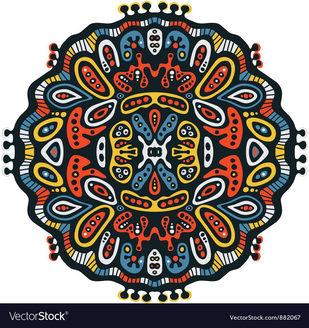 Kaleidoscope background vector | Price: 1 Credit (USD $1)