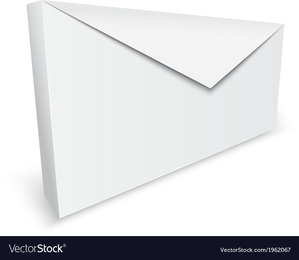 Realistic envelope background vector | Price: 1 Credit (USD $1)