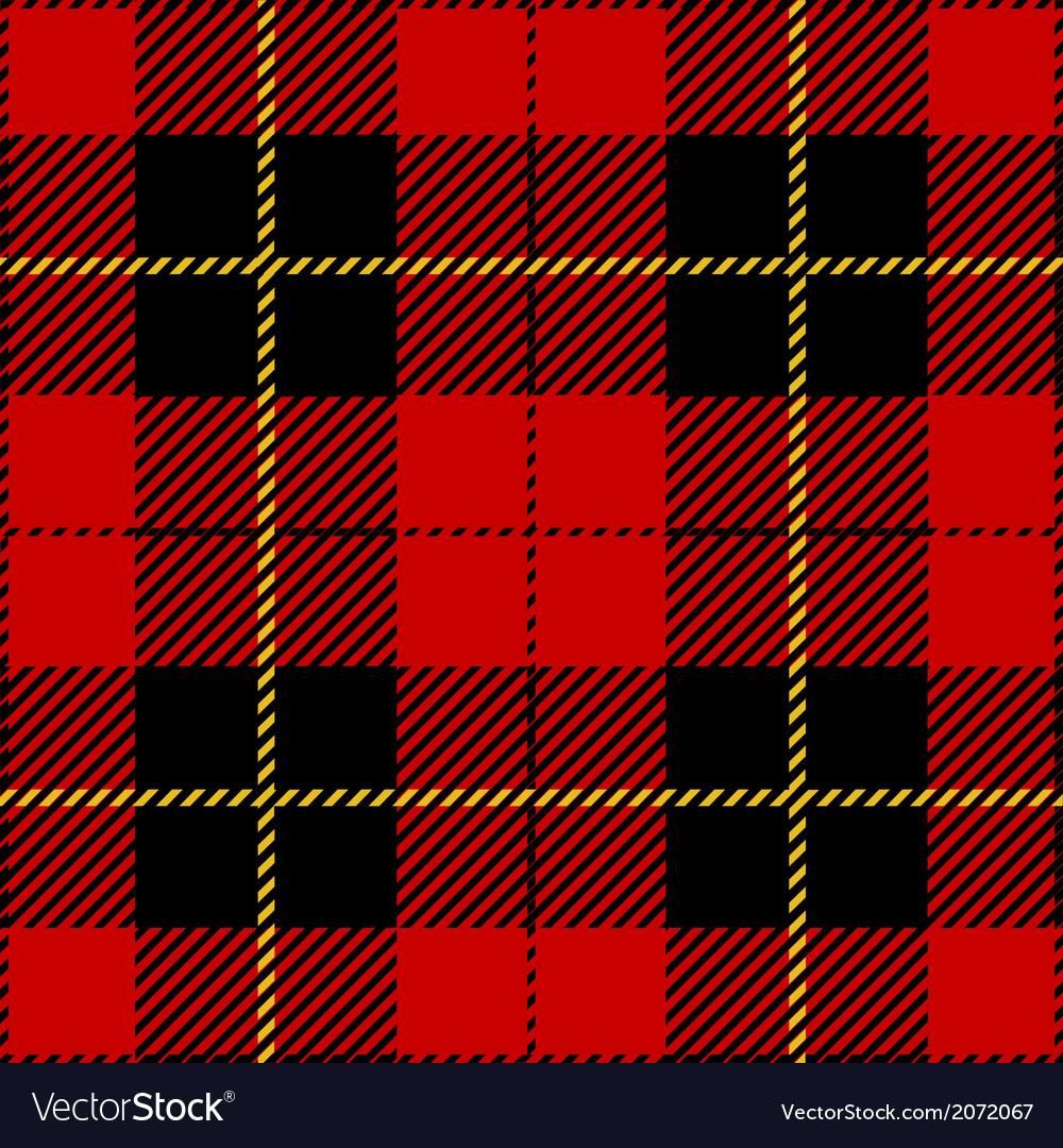 Red seamless tartan plaid design vector   Price: 1 Credit (USD $1)